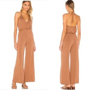 NWT MAJORELLE Farren Jumpsuit Brown Spice Small